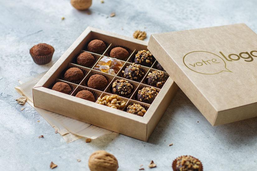 Le chocolat personnalisé, un cadeau d'entreprise incontournable