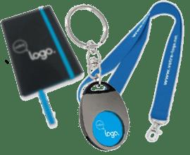Porte-clés en plastique publicitaire