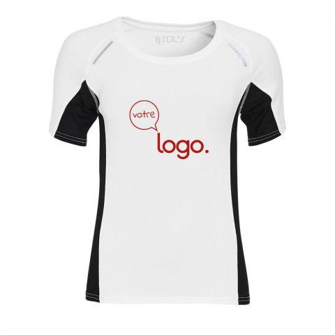 T-shirt de running personnalisé publicitaire pour femme SYDNEY WOMEN