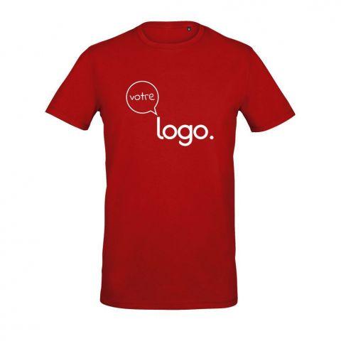 T-shirt pour homme avec col rond personnalisé publicitaire MILLENIUM