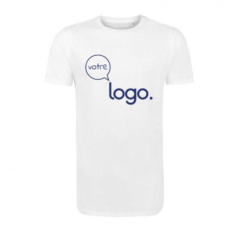 T-shirt long personnalisé publicitaire pour homme MAGNUM