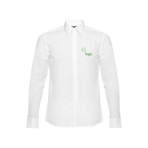Chemise personnalisé blanche popeline pour homme MC BATALHA.