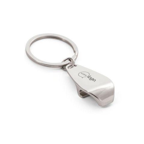 Porte-clés décapsuleur personnalisable en métal