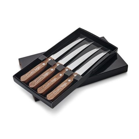 Ensemble 4 couteaux personnalisé