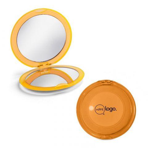 Miroir de maquillage personnalisé