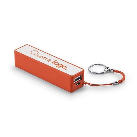 Batterie nomade publicitaire