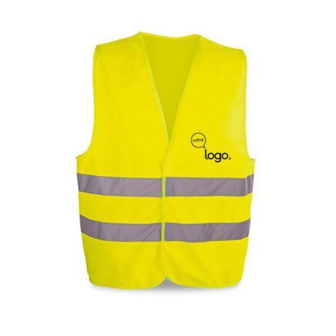 Gilet de sécurité personnalisé haute visibilité