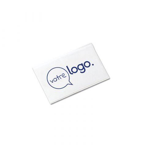 Badge personnalisé avec étui transparent