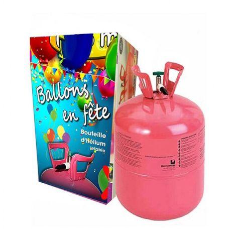 Bouteille d'hélium jetable