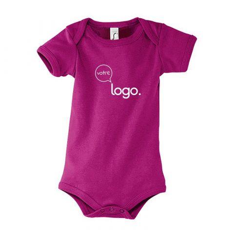 Body pour bébé personnalisé publicitaire BAMBINO