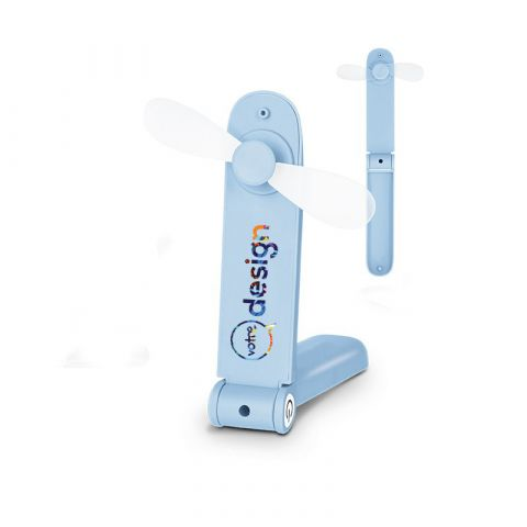 Ventilateur publicitaire portatif rechargeable
