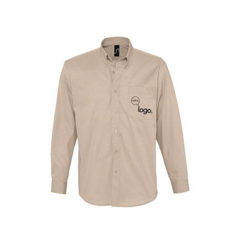 Chemise à manches longues pour homme personnalisée publicitaire BEL AIR