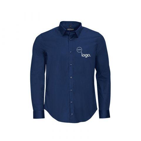 Chemise pour homme à manches longues personnalisée publicitaire BLAKE