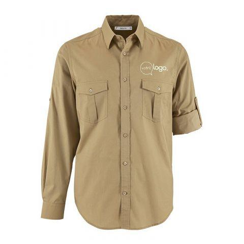 Chemise pour homme personnalisée publicitaire BURMA