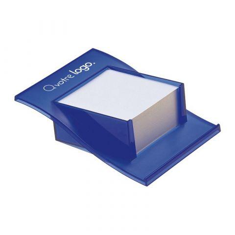 Porte bloc papier publicitaire cube