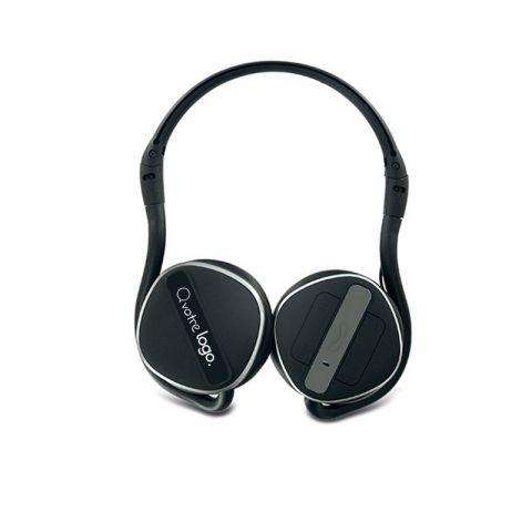 Casque pliable audio stéréo personnalisé Bluetooth