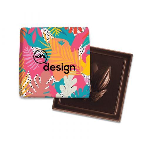 Carré de chocolat BIO publicitaire 4G ®Le Petit Carré