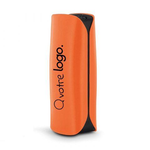 Batterie externe publicitaire avec torche 2600 mAh