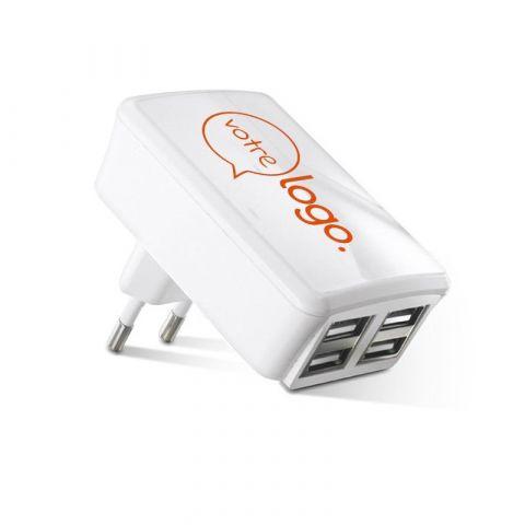 Chargeur publicitaire adaptateur USB