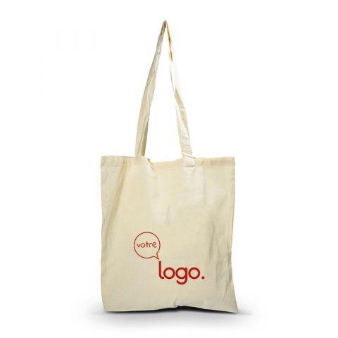 Sac de shopping en coton biodégradable personnalisé publicitaire TOTE BAG