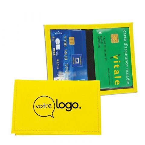 Porte carte de crédit personnalisé