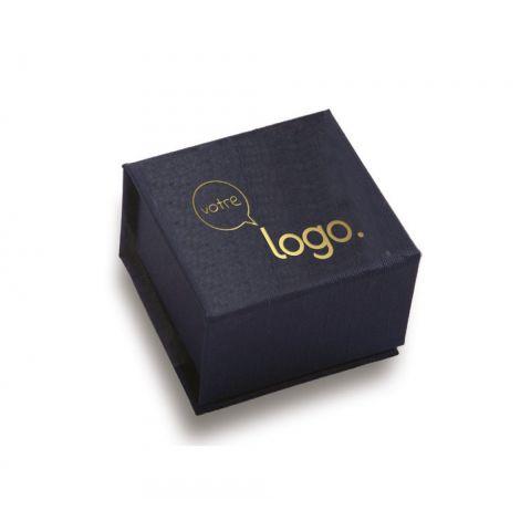 Petit coffret de chocolat personnalisé Ecrin 6 carrés ®Le Petit Carré