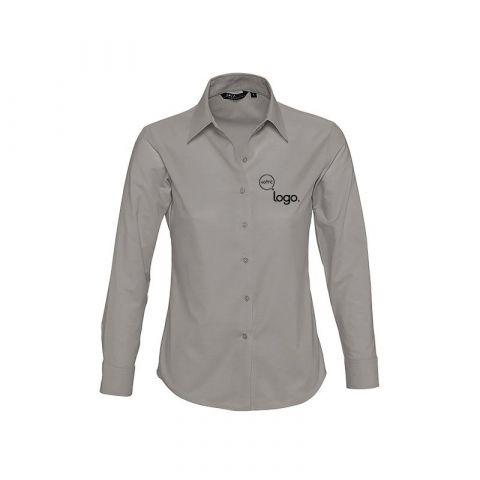 Chemise à manches longues pour femme personnalisée publicitaire EMBASSY