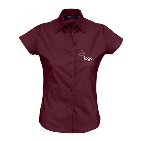 Chemise à manches courtes pour femme personnalisée publicitaire EXCESS