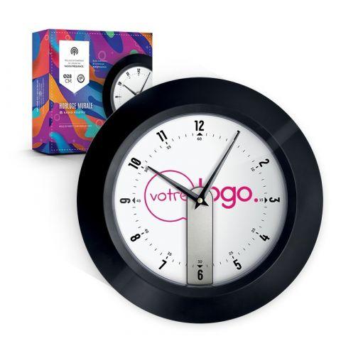 Horloge murale personnalisable avec radio pilotée