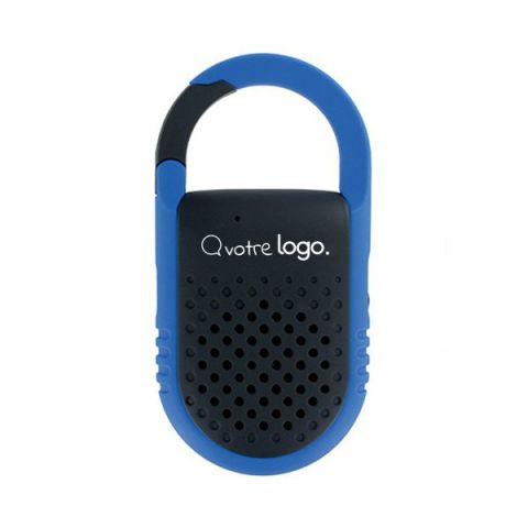 Haut parleur et enceinte Bluetooth sans fil personnalisé avec mousqueton