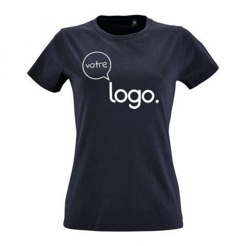T-shirt col rond personnalisé publicitaire pour femme IMPERIAL FIT
