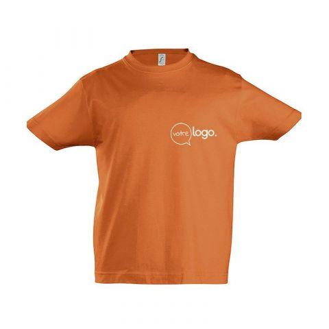 T-shirt à col rond personnalisé publicitaire IMPERIAL KIDS