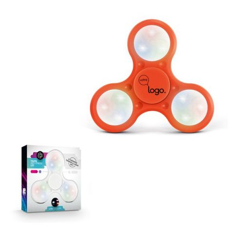 Hand spinner lumineux publicitaire