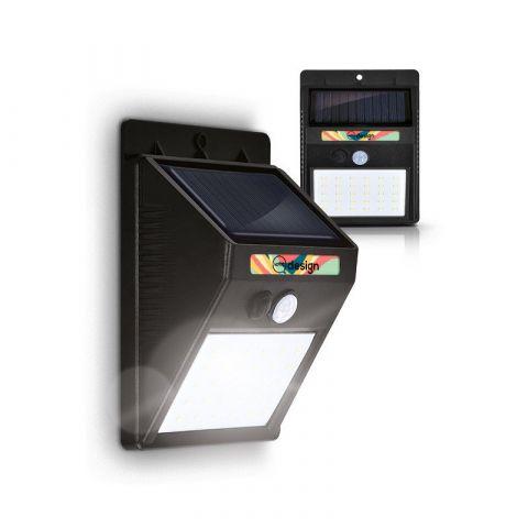 Lampe solaire 30 LED avec détecteur de mouvement personnalisable