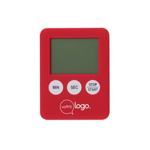 Minuteur avec fonction chronomètre magnétique personnalisé