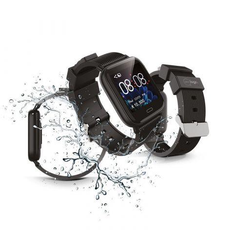 Bracelet connecté avec écran de couleur publicitaire