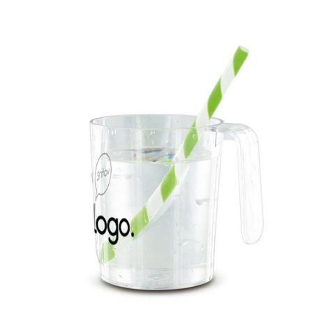 Mug personnalisé transparent 35 cl