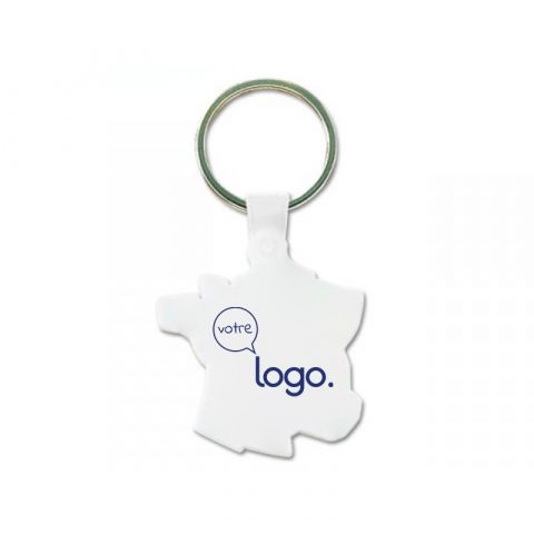 Porte-clés dur personnalisé fabriqué en France