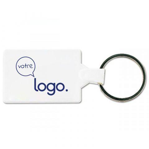 Porte-clés publicitaire personnalisable