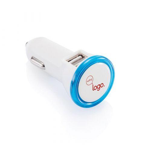 Double chargeur allume-cigare USB personnalisé 2.1A