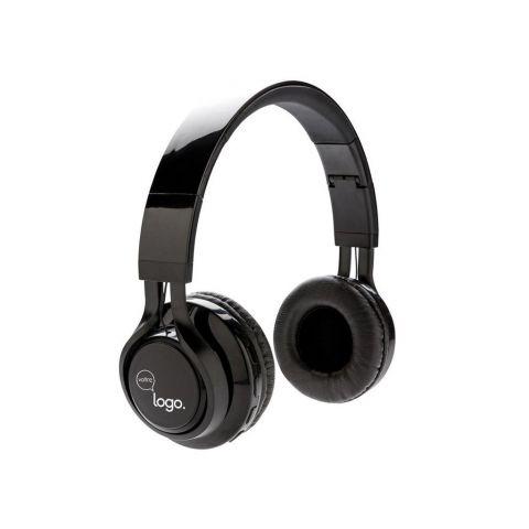 Casque audio sans fil lumineux, noir
