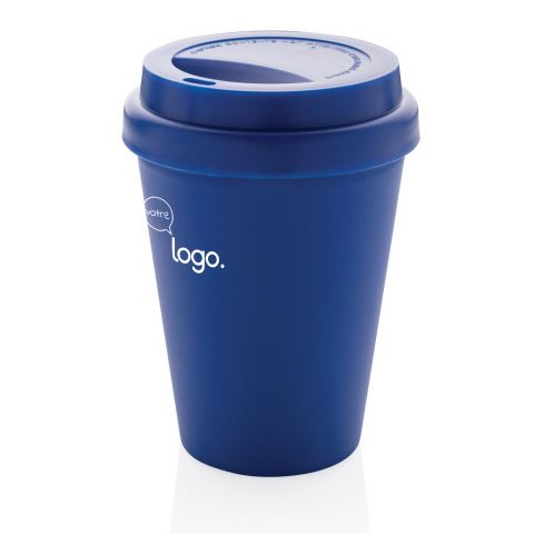 Mug publicitaire en PP recyclable à double paroi 300ml