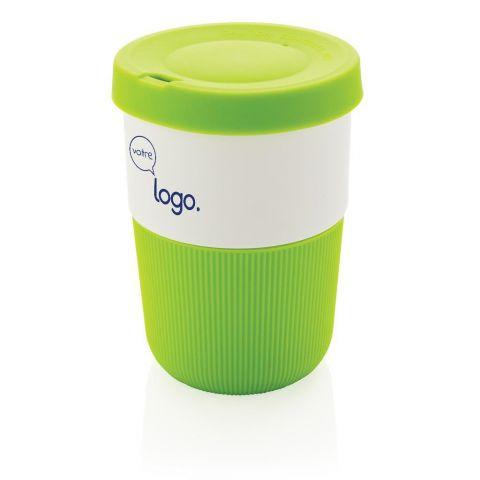 Tasse Coffee To Go personnalisable de 380ml en PLA