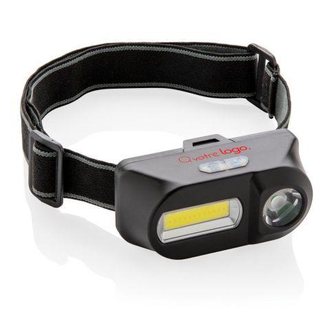 Lampe frontale personnalisé avec LED et COB