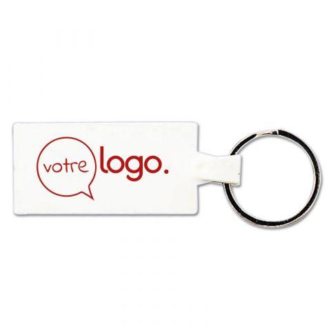 Porte-clés publicitaire plastique souple