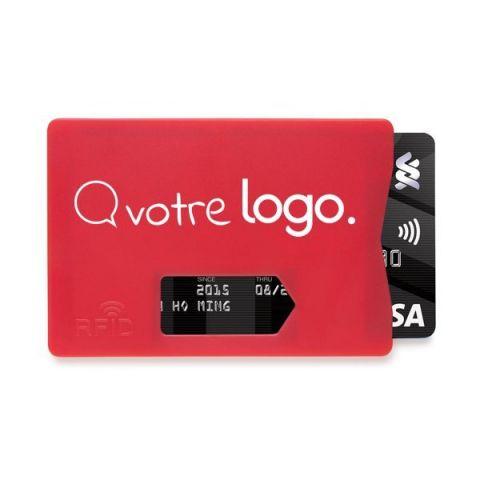 Porte-carte RFID personnalisé