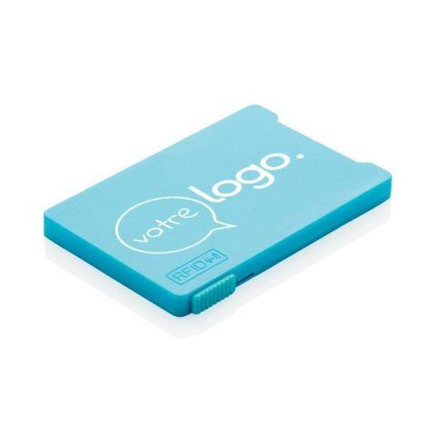 Porte-cartes personnalisé anti-RFID
