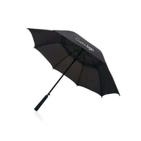 Parapluie tempête publicitaire Swiss Peak Tornado