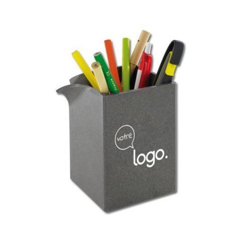 Pot à crayon publicitaire 75x75x104mm