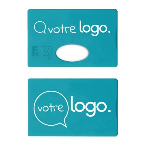 Protège carte de crédit avec blindage STOP ou anti RFID personnalisé